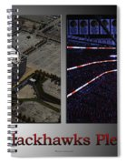 Chicago Blackhawks Please Stand 2 Panel Sb Spiral Notebook