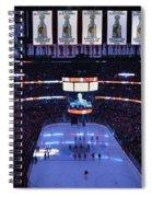 Chicago Blackhawks Please Stand Up Spiral Notebook