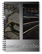 Chicago Blackhawks Zamboni Break Time 2 Panel Sb Spiral Notebook