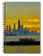 Chicago Breakwater Spiral Notebook