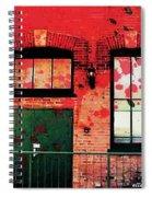 Chicago Brick Facade 21st. Century Spiral Notebook