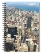 Chicago Buildings Spiral Notebook