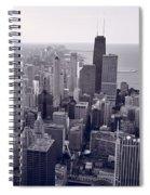 Chicago Bw Spiral Notebook