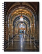 Chicago City Hall 1st Floor Hallway Area Hdr 01 Spiral Notebook