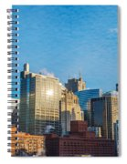 Chicago Cityscape During The Day Spiral Notebook