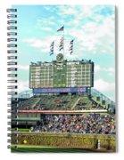 Chicago Cubs Scoreboard 01 Spiral Notebook