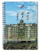 Chicago Cubs Scoreboard 02 Spiral Notebook