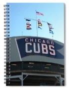 Chicago Cubs Signage Spiral Notebook