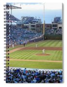 Chicago Cubs Up To Bat Spiral Notebook