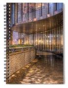 Chicago Curves Spiral Notebook