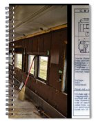 Chicago Eastern Il Rr Business Car Restoration With Blue Print Spiral Notebook
