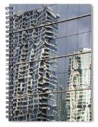 Chicago Facade Reflections Spiral Notebook
