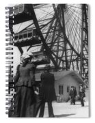 Chicago Ferris Wheel, C1893 Spiral Notebook