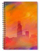 Chicago Fire Spiral Notebook