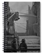 Chicago Firemen Looking On Spiral Notebook