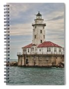 Chicago Harbor Lighthouse Spiral Notebook