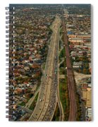 Chicago Highways 01 Spiral Notebook