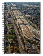 Chicago Highways 02 Spiral Notebook