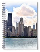 Chicago In The Spotlight Spiral Notebook