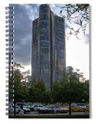 Chicago Lake Point Tower Spiral Notebook