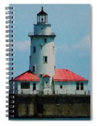 Chicago Lighthouse Spiral Notebook