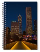 Chicago Lights Spiral Notebook