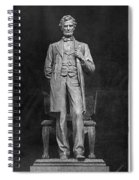 Chicago Lincoln Statue Spiral Notebook