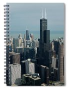 Chicago Looking East 04 Spiral Notebook