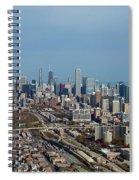 Chicago Looking North 01 Spiral Notebook