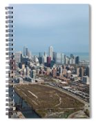Chicago Looking North 02 Spiral Notebook