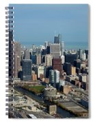 Chicago Looking North 03 Spiral Notebook