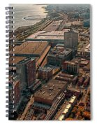 Chicago Looking South 02 Spiral Notebook