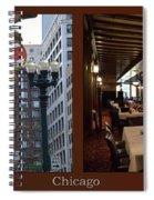 Chicago Macys Department Store 2 Panel Spiral Notebook