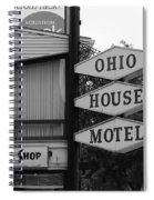 Chicago Motel Spiral Notebook