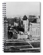 Chicago Panorama 1915 Spiral Notebook