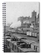 Chicago Railroads, C1893 Spiral Notebook