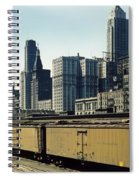 Chicago Railway Freight Terminal - 1943 Spiral Notebook