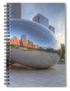 Chicago Reflection Spiral Notebook