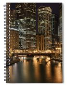 Chicago River Spiral Notebook