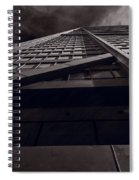 Chicago Structure Bw Spiral Notebook