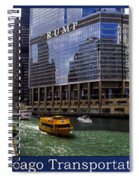 Chicago Transportation Triptych 3 Panel Hdr 01 Spiral Notebook