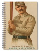 Chicago White Stockings 1887 Spiral Notebook