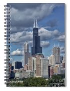 Chicago Willis Sears Tower Spiral Notebook