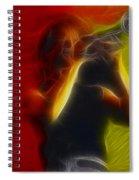 Chicago19-lee-2-fractal Spiral Notebook