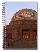 Chicago's Adler Planetarium Spiral Notebook