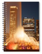 Chicago's Buckingham Fountain Spiral Notebook