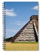 Chichen Itza And Columns Spiral Notebook