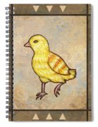 Chick Two Spiral Notebook