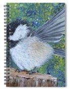 Chickadee Landing Spiral Notebook