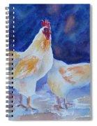 Chicken Duo Spiral Notebook